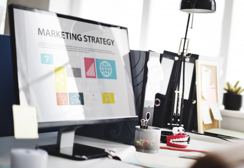 Marketing Strategy Planning Strategy Concept