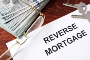 Reverse mortgage contract and cash