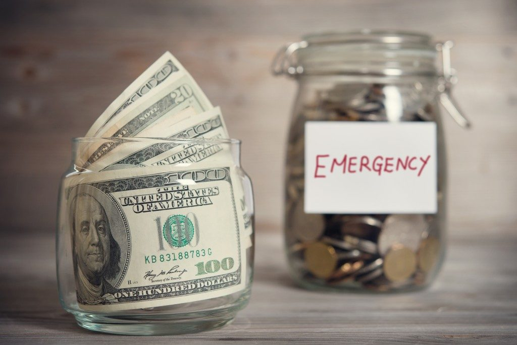 emergency money jars