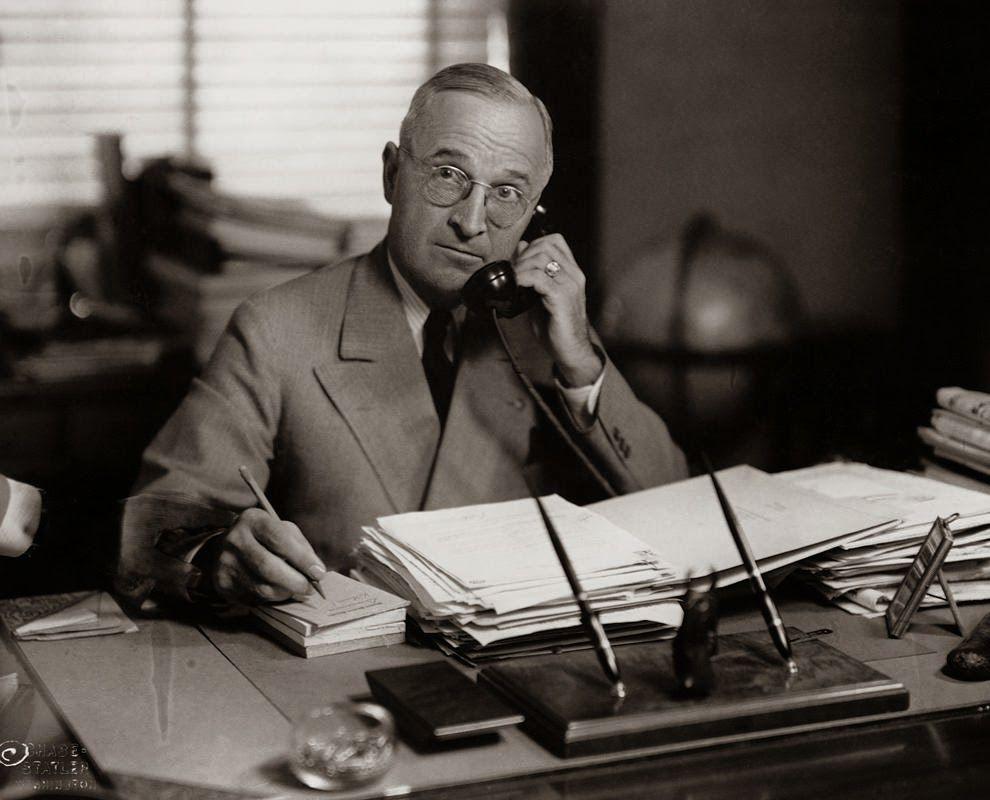 harry-truman-using-a-phone